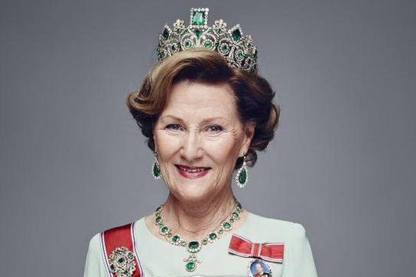 La reine Sonja Haralsen de Norvège