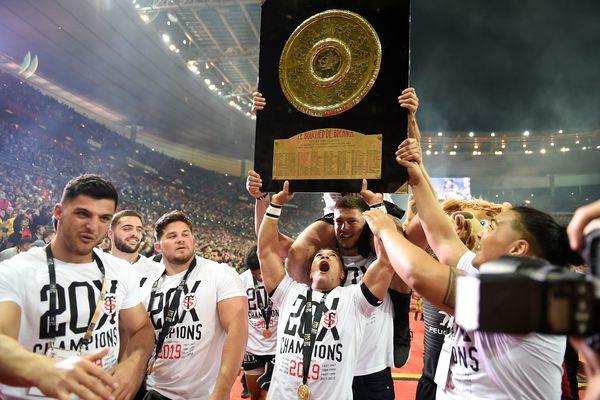 2019. Les Toulousains décrochent leur 20ème bouclier de Brennus, un titre national raflé près d'une fois sur deux par des équipes occitanes ou catalanes depuis sa création.