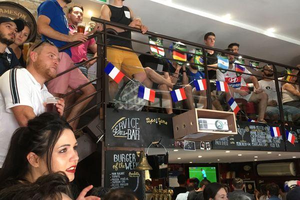 Supporters des Bleus lors de la dernière coupe du monde de football en 2018