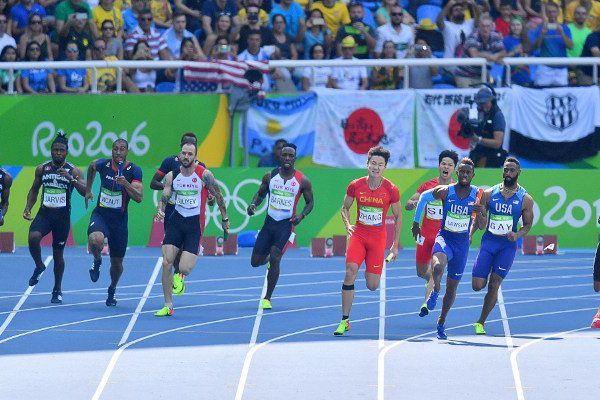 Les Français quittent le relais 4 x 100 dès les séries à Rio.