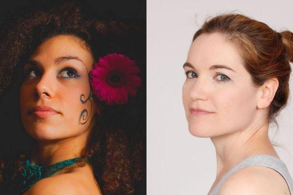 Zinnya et Liz Van Deuq, deux artistes orléanaises, pour un concert organisé le 14 mars 2019 à Orléans