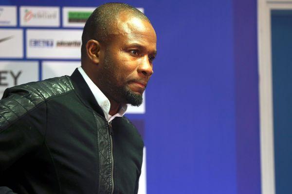 Omar Daf, entraîneur du FC-Sochaux Montbéliard