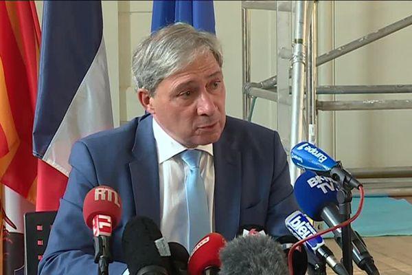 Le procureur de la République, Jean-Michel Prêtre.