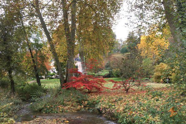 """Le Jardin de Sasnières est classé """"Jardin remarquable"""" depuis 2004"""