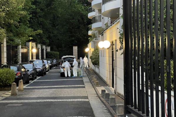Le drame s'est déroulé rue de Courlancy à Reims, le 11 mai.