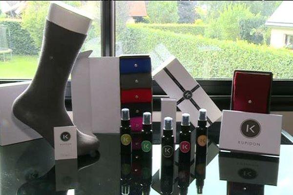 Quelques exemples des produits commercialisés par la société Kupidon.
