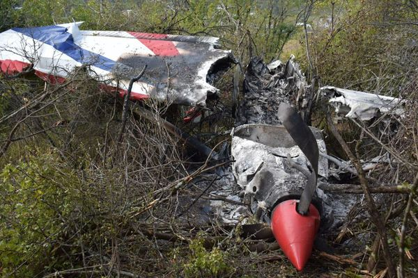 Le pilote, en état d'urgence relative, a été évacué au centre hospitalier d'Albi