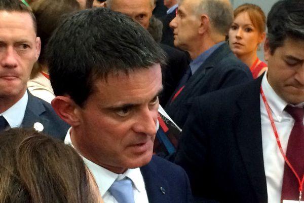 Manuel Valls à Nantes le 27 septembre 2016