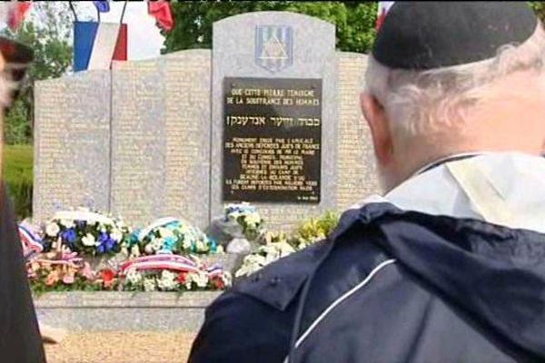 Commémoration de la Shoah à Pithiviers et Beaune-la-Rolande (Loiret)