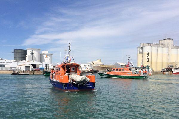 La SNSM rend un ultime hommage aux trois sauveteurs morts en mer le 7 juin 2019