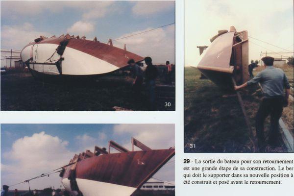 Archives du chantier mené en 1981 par Jean-Pierre.
