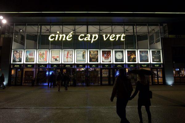 Le cinéma Cap Vert de Quetigny (21), en 2018.