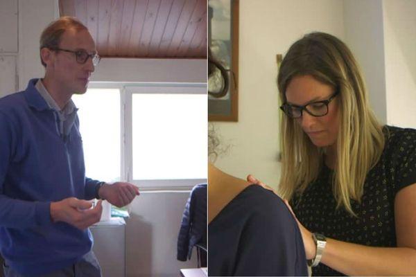 Bertrand Legrand à Tourcoing et Claire Maire à Dunkerque témoignent de la violence verbale et physique de certains patients.