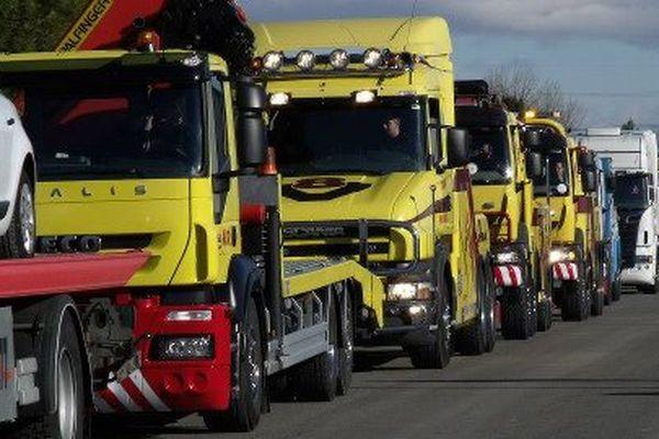 Plus de 250 camions dépanneurs circuleront dans Moulins, Avermes et Yzeure samedi 17 octobre pour tenter de battre un record du monde.