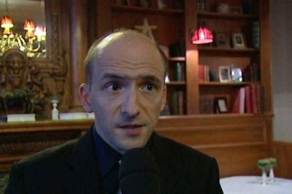 Thibault Brière-Saunier, candidat FN à la mairie de Chartres