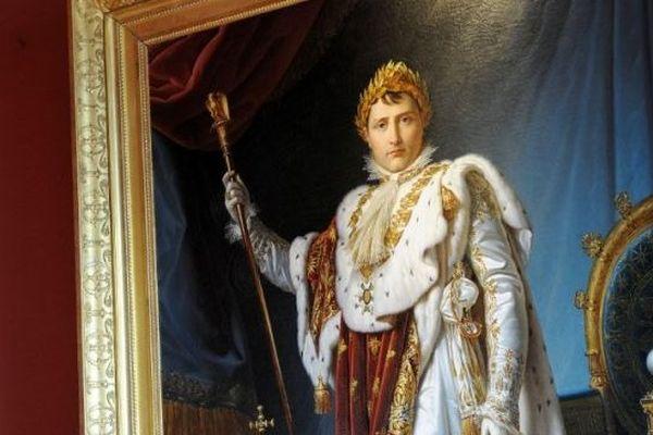 Portrait de François Pascal Simon au Musée Fesch.