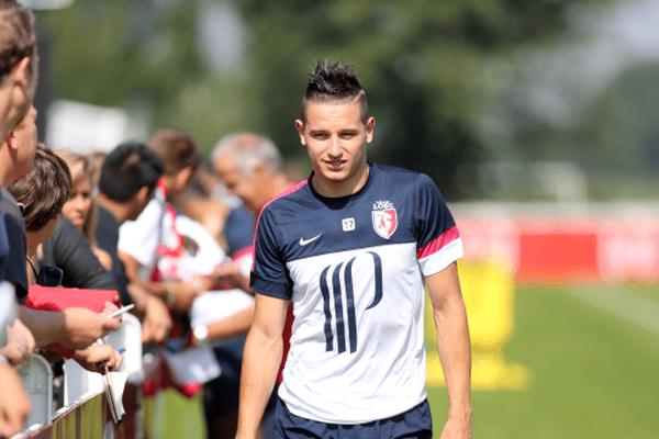 Florian Thauvin, le 23 août à l'entraînement, à Luchin