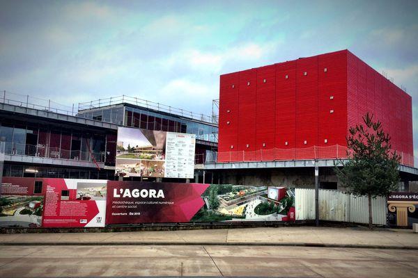 L'Agora, médiathèque-centre social à Metz-Nord
