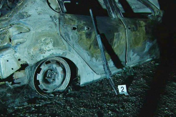Un fusil de chasse a été retrouvé sur une voiture brûlée au niveau du col de Teghime, à quelques kilomètres du lieu où l'homme a été visé par des tirs.