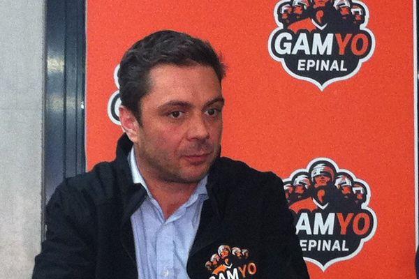 Stéphane Barin, nouvel entraîneur du Gamyo Epinal