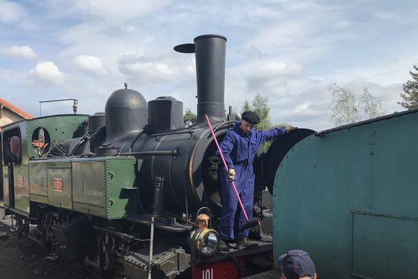 Cette locomotive a plus de 100 ans et elle roule encore pour les Journées du Patrimoine en Haute-Loire.