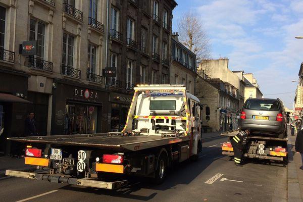 Fourrière active à Caen pour le Carnaval étudiant