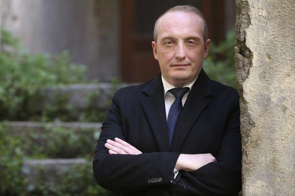 """Tête de la liste """"Un soffiu novu"""", Laurent Marcangeli s'annonce comme le principal adversaire de Gilles Simeoni dans ce scrutin territorial."""