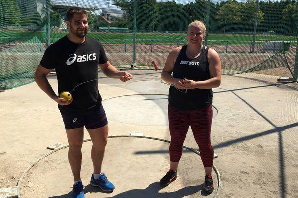 Quentin Bigot et Alexandra Tavernier, répètent leurs gammes avant les championnats d'Europe organisés à Berlin.