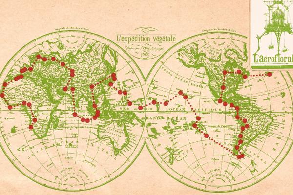 L'expédition végétale fait le tour du monde