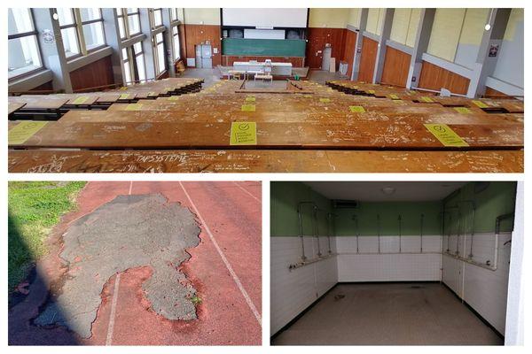 Les infrastructures de la filière STAPS de l'université de Toulouse sont dégradées et parfois dangereuses. Ils manifestent pour obtenir les moyens d'étudier dans de bonnes conditions.