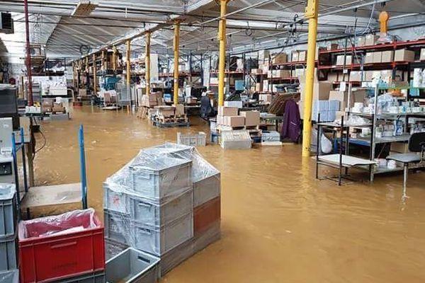 L'usine Vynex de Thelonne près de Sedan, le 12 juin 2018