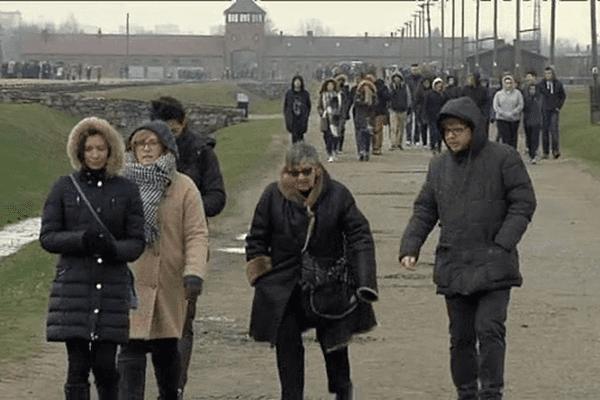 Les élèves de six lycées normands se sont rendus à Auschwitz le 23 mars dernier