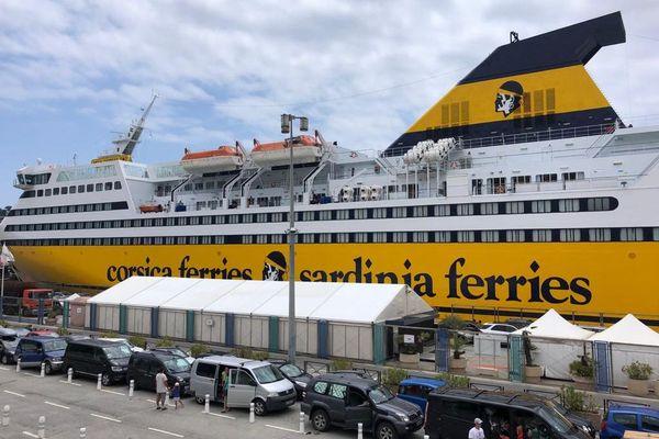 La Corsica Ferries reprend ce mercredi 1er juillet ses rotations avec la Corse