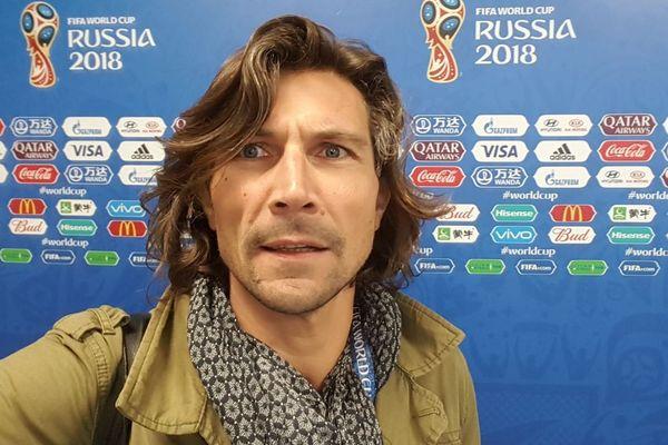 François Verdenet, journaliste à France Football.