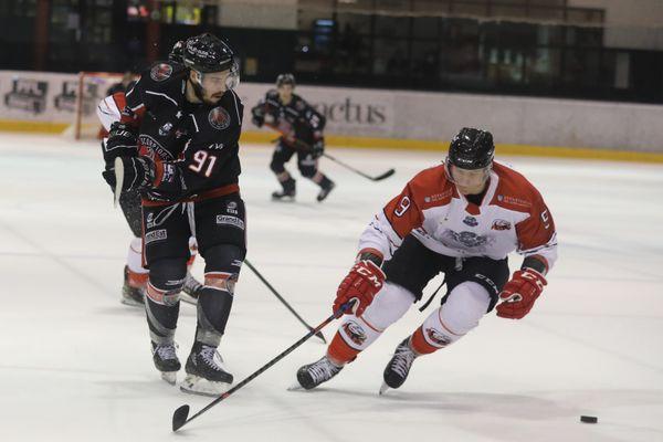 Les Scorpions de Mulhouse ont joué contre les Aigles de Nice mardi 27 octobre.