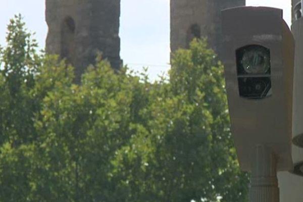 Montpellier - 1 des 13 radars de feu rouge - 20 septembre 2012.