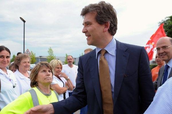 En mai 2012, Arnaud Montebourg et Pierre Moscovici, candidats aux  législatives, étaient venus soutenir les salariés de Trévest.