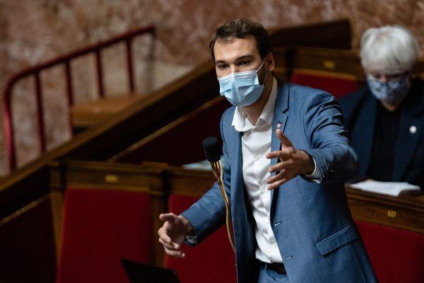 Ugo Bernalicis, à l'Assemblée nationale.