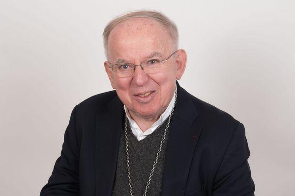 Marc Stenger évêque de Troyes pendant 20 ans, en retraite désormais à Strasbourg.