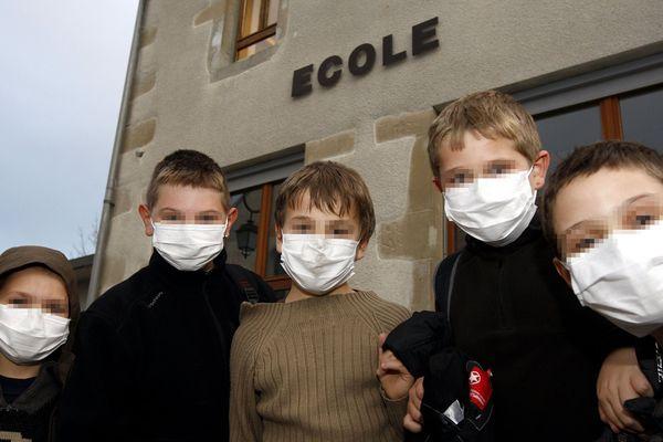 Ecole ou pas quand on est malade ? Photo d'archives