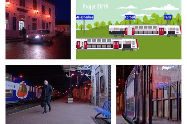 Gare de Malesherbes (Loiret)