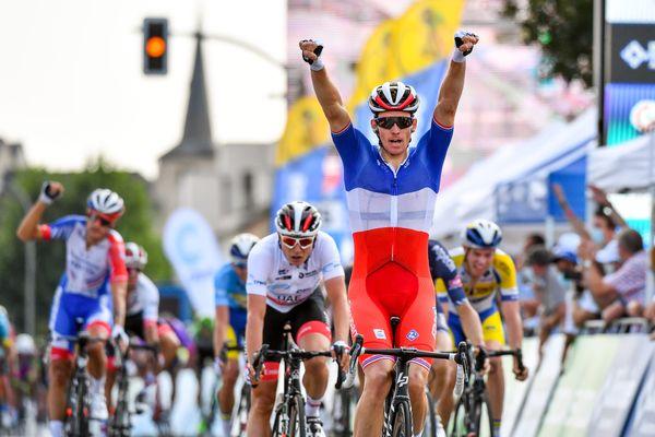Arnaud Démare sera bel et bien au départ du Giro 2020, qui traversera Monreal à Milan du 3 au 25 octobre (ici le 16 septembre lors de sa victoire sur le Tour de Luxembourg).