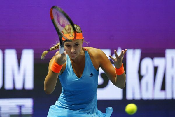 Kristina Mladenovic en pleine forme à Saint-Pétersbourg