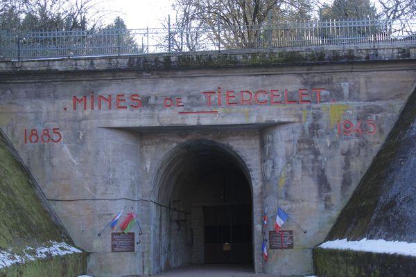 L'ancienne mine de fer a abrité un camp de travail de prisonniers des nazis pendant la Seconde Guerre Mondiale