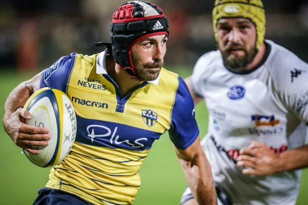 Mathieu Bélie (USON Nervers Rugby) espère poursuivre la bonne série de son club