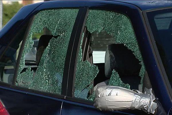 Un déferlement de violence a eu lieu au centre-ville