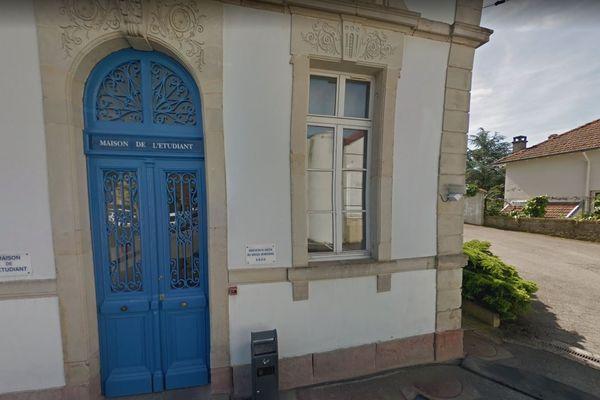 Maison de l'étudiant (MDE) à Epinal (Vosges).