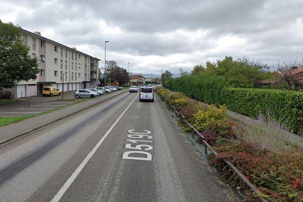La vente de stupéfiants se faisait aux abords des immeubles, quartier du Petit-Plan à Saint-Etienne-de-Saint-Geoirs.