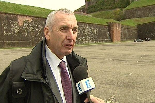 Maître Yves Bouveresse, avocat installé à Montbéliard défend la famille de Pierre Nasica