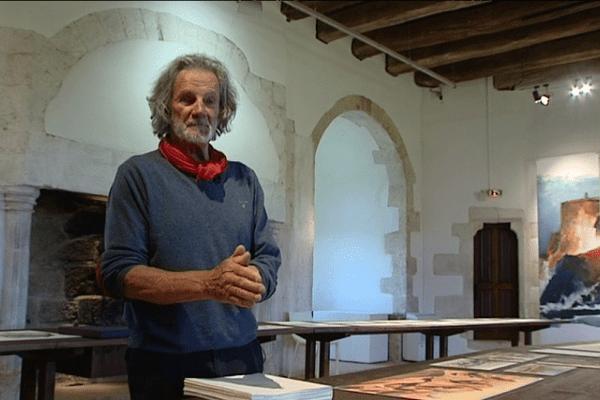 Yvon Le Corre au Domaine de la Roche-Jagu (Côtes d'Armor) en 2016